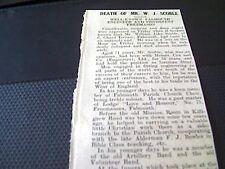 64-3 1939 ephemera falmouth 22/9/39 ww2 neptumia sunk u boat