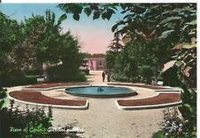 190208 BOLOGNA PIEVE DI CENTO - GIARDINI - FONTANA Cartolina FOTOGRAFICA