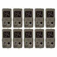 Cuddeback Dual Flash Invisible Infrared Scouting Game Trail Camera (10 Pack)