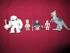 LEGO Star Wars Minifigures LOT, Wampa,Taun Taun ,Han Solo,Luke