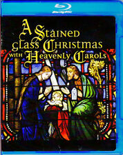 A STAINED GLASS CHRISTMAS with HEAVENLY CAROLS: HD VIRTUAL HOLIDAY 5.1 Blu-ray!!