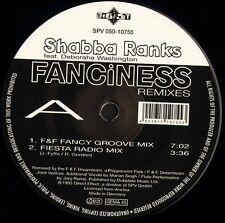 "SHABBA RANKS fanciness remixes SPV 050-10755 german direct effect 12"" CS EX/EX"