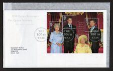 GB 2000 FDC Queen Mother's 100th Birthday Bureau Edinburgh postmark stamps
