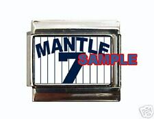 Mickey Mantle Jersey Italian Charm Yankees Pinstripes!