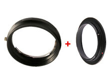 58mm Macro Reverse Adapter Ring for Nikon AF +Rear Lens Mount Protection Ring