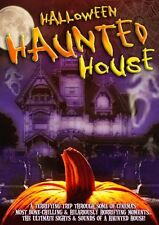 HALLOWEEN HAUNTED HOUSE SIGHTS, SOUNDS, MOVIE CLIPS & MORE VIRTUAL PARTY DVD NEW