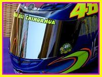 HELMET DECAL SET STICKER 2010 - TRIBU DEI CHIHUAHUA VALENTINO ROSSI VR46 MOTO GP