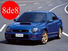Subaru Impreza (2002) - Workshop Manual on CD