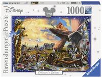 RAVENSBURGER PUZZLE*1000 T*DISNEY COLLECTOR'S EDITION*DER KÖNIG DER LÖWEN*OVP