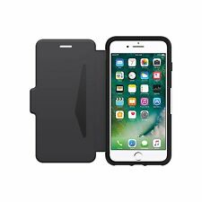 OTTERBOX CASE FOR IPHONE 7 PLUS STRADA WALLET FOLIO CARD ID SLOT BLACK 77-53977