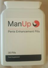 "MAN UP MALE PENIS ENLARGER THICKER LONGER BIGGER 4"" GROWTH ENLARGEMENT PILLS"