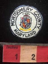 Montgomery County Maryland Patch 76CC