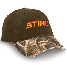 hot sale online 112a1 28018 Stihl Brown and Camo Deer Head Hat Cap