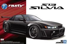 1991 Nissan Silvia S13 Rasty Tuning PS13 1:24 Model Kit Bausatz Aoshima 050989