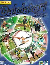 Calciatori 2000 Campionato di Calcio A, B, C1 & C2 - Panini Album COMPLETE