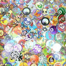 Lot of 50 Pogs / Milk Caps + Slammer Unsorted! Retro Game Nostalgia! Skull Bone