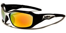 Xloop DESIGNER Sports Cycling Wrap Mens Ladies Semirim Sunglasses Uv400 3616 Black