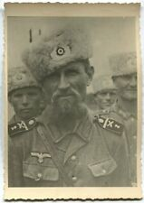 GERMAN WWII ARCHIVE PHOTO: RUSSIAN COSSACKS SERVING IN WEHRMACHT