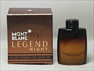 ღ Legend Night - Mont Blanc - Miniatur EDP 4,5ml *New 2018*