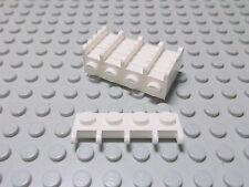 Lego 6 Scharniere weiß 1x4 Dachhalter Halter 4315 Set 6342 6398 6982 4025