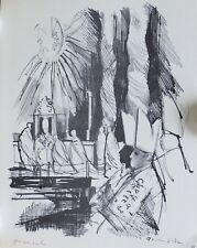 Emilio GRAU-SALA / Emili GRAU I SALA (1911-1975) Lithographie Signée Signat 1963