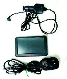 "Garmin Nuvi 50LM 5"" Touchscreen GPS Unit W/Chargers Bundle"