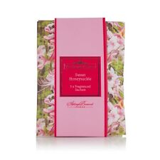 Ashleigh & Burwood  3 x Fragranced Sachets Sweet Honeysuckle Scented Floral Pack