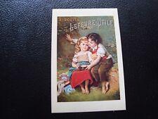 FRANCE - carte postale publicite (biscuit lefevre-utile) (B10) french