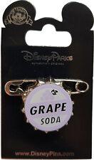 Exclusive Disney Disneyland Paris Pixar Up Grape Soda Bottle Cap Pin Badge
