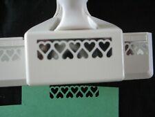 Martha Stewart Border Paper Punch Interlocking Hearts Gently Used  Free Shipping