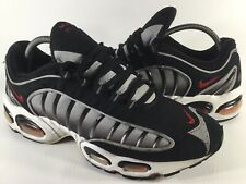 Nike Air Max Tailwind 4 IV Black Grey White Red Mens Size 10 Rare 104166-061