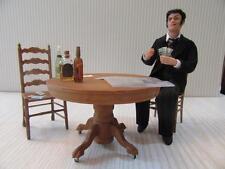 MINIATURE DOLLHOUSE 1:12 SCALE-THE GAMBLER W/ACCESSORIES ARTIST PIECE L.E.-TK14