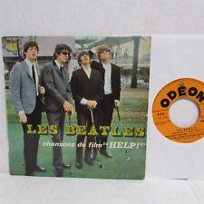 "LES BEATLES Chansons Du Film Help 1965 7"" VINYL Import FRANCE Odeon SOE 3771"