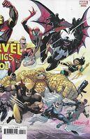 Marvel Comics 1001 Cover B Variant Patrick Gleason Wraparound Cover First Print
