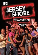 Jersey Shore: Season One Uncensored (DVD 3 disc)  NEW