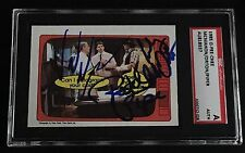 VINCE McMAHON, RODDY PIPER, ORTON 1985 OPC SIGNED AUTOGRAPHED CARD SGC AUTHENTIC