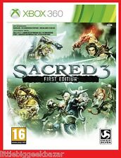 SACRED 3 First Edition RPG X-Box 360 VF xbox  # NEUF # sous blister