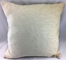 "Cream (Oatmeal) Chenille Type LARGE 19.5""x19.5"" Evans Lichfield Cushion Cover"