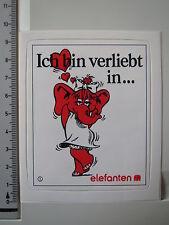 Aufkleber Sticker Nr.1 Elefanten - Schuhe - Kinderschuhe (1281)