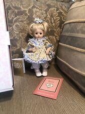 Bunny Doll Maryse Nicole Franklin Mint Heirloom Doll Blonde Porcelain 10�
