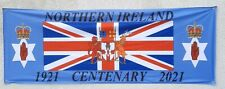 More details for northern ireland centenary banner 8x3ft knitted polyester with 4 eyelets