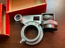 Leica Leitz Wetzlar Sooky-M M3 Close Up Goggles With Uoorf Adapter And Case Exc+