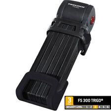 Trelock TRIGO Cierre plegable FS 300, 85cm con soporte negro