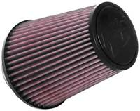 """K&N RU-4700 Universal Clamp-On 6.75"""" Round Tapered Cotton Gauze Air Filter"""