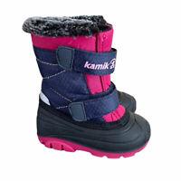 Kamik Toddler Girls 5 Sapling Pink Winter Boots Snow Boots