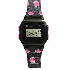 Neff Unisex Flava Watch Black Timepiece Casual