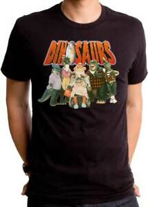 DINOSAURS Family - TV Series T SHIRT S-2XL New Official Goodie Two Sleeves Merch