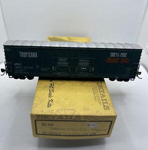 HO Details West Kit 50' BC-504 Tropicana orange juice double plug door box