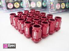 ROT *D1-SPEC* Lug Nuts 40mm gerändelt M12 x 1.5 Radmuttern Radschrauben