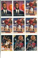 Lot of (19) Calbert Cheaney Basketball Cards Rookie RC - NBA Bullets
